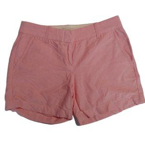 J. Crew| Shorts Pastel Red Casual Beach Summer